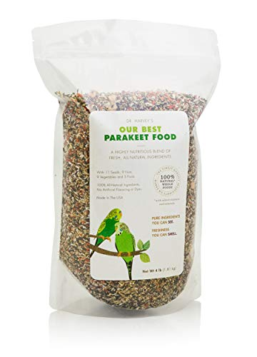 Dr. Harvey's Our Best Parakeet Blend, All Natural Daily Food for Parakeets (4 pounds)