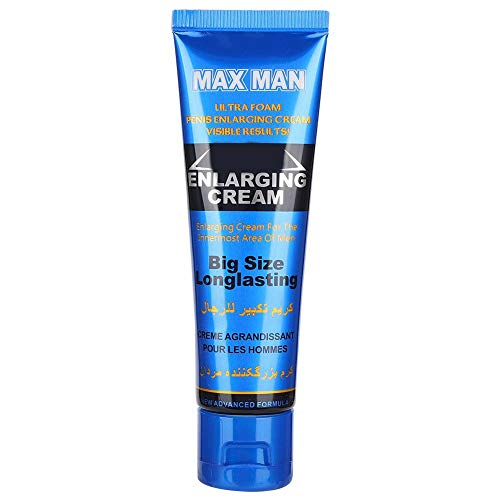 Enlargement Cream, 50ml Extender Ointment Larger Thicker Longer for Male Better Performance (Blue)
