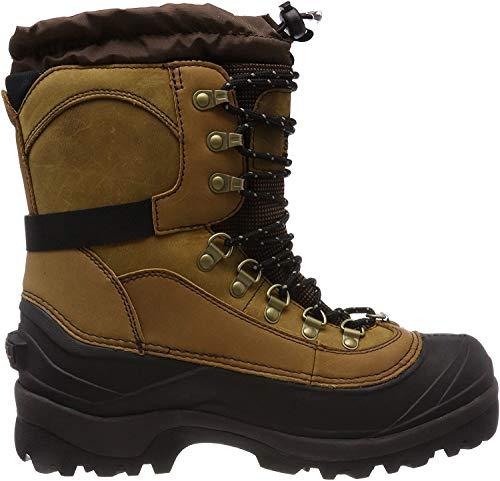SOREL - Men's Conquest Waterproof Insulated Winter Boot, Bark, 11.5 M US