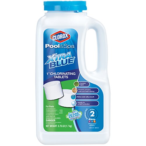 Clorox Pool&Spa XtraBlue 1' Chlorinating Tablets 3.75 lb
