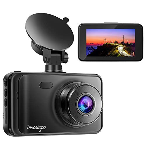 Dash Cam2020 New Version 1080P FHD DVR Car Dashboard Camera Recorder 3' LCD Screen 170° Wide Angle, Super Night Vision, G-Sensor, WDR, Parking Monitor, Loop Recording, Motion Detection
