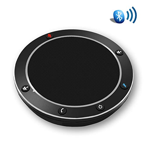 Tenveo NA100B Bluetooth Conference Speakerphone - Conference Call Speaker - Conference Microphone for skype Zoom 3-5 People Business Conference