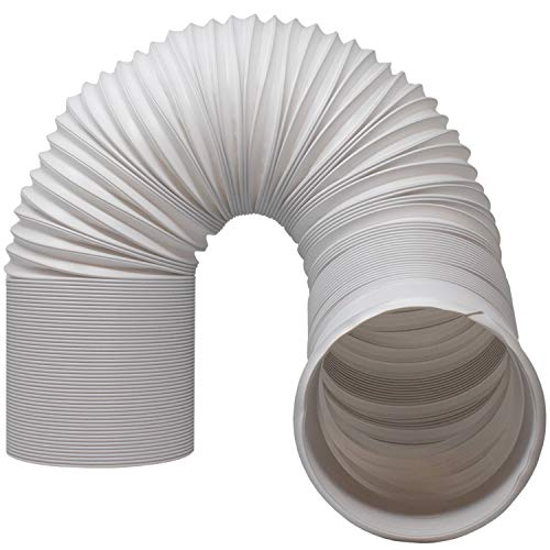 Air Conditioner Hose - Portable Exhaust Vent with 5.9' Diameter, Anti-Clockwise Thread & Length up to 80'. Compatible with LG, Delonghi and Other Portable Air Conditioners to Save Energy (5.9')