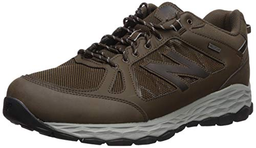 New Balance Men's Fresh Foam 1350 V1 Walking Shoe, Chocolate Brown/Team Away Grey, 9.5 M US