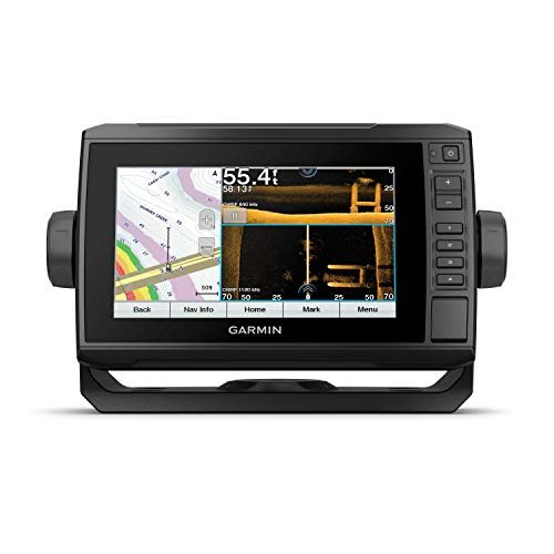 Garmin ECHOMAP UHD 73sv, 7' Keyed-Assist Touchscreen Chartplotter with U.S. LakeVü g3 and GT54UHD-TM transducer