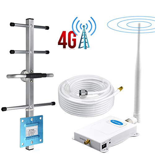 Verizon Cell Phone Signal Booster 4G LTE Cell Signal Booster Verizon Cell Phone Booster Repeater Band13 Verizon Cell Phone Signal Amplifier Home Cell Phone Signal Booster Verizon with Antennas Kit
