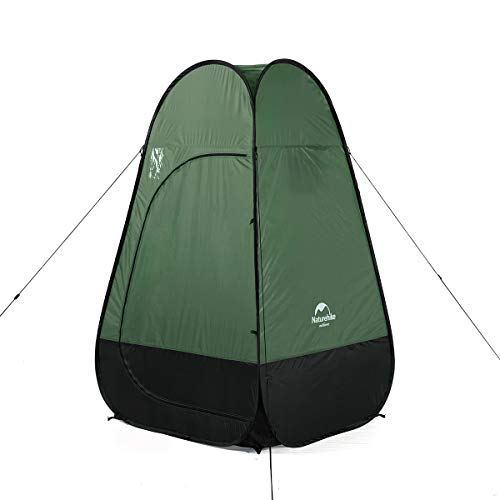 Naturehike Pop Up Camping Shower Tent, Portable Dressing Changing Room Privacy Shelter Tents for Outdoor Camping Beach Toilet and Indoor Photo Shoot with Carrying Bag