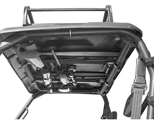 Great Day QD851-OGR Quick-Draw Overhead Gun Rack - UTV's with 28-35in rollbar depth, Black