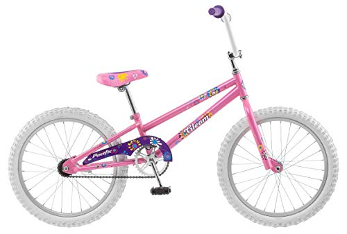 Pacific Gleam Girls Bike, 20-Inch Wheels, Training Wheels Not Included, Pink