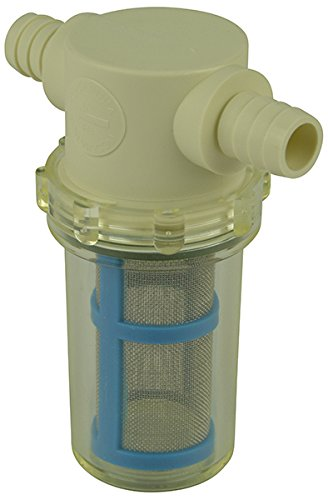 1/2' Hose Barb in-Line Strainer with 50 mesh Stainless Steel Filter Screen