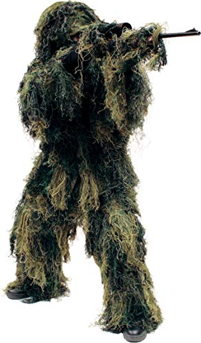 Red Rock Outdoor Gear - Ghillie Suit, Medium/Large, Woodland