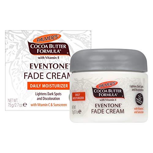 Palmer's Cocoa Butter Formula Eventone Fade Cream Daily Moisturizer for Dark Spots & Discoloration   2.7 Ounces