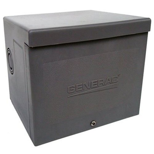 Generac 6337 30-Amp 125/250V Raintight Power Inlet Box