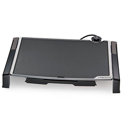 Presto 07073 Electric Tilt-N-fold Griddle, 19', Black inch