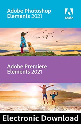 Adobe Photoshop Elements 2021 & Premiere Elements 2021 [Mac Online Code]