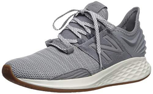 New Balance Women's Fresh Foam Roav V1 Sneaker, Gunmetal/Light Aluminum, 10 M US
