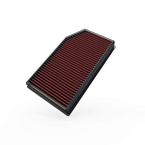 K&N Engine Air Filter: High Performance, Premium, Washable, Replacement Filter: 2018-2020 Jeep Wrangler JL and Gladiator, 33-5076
