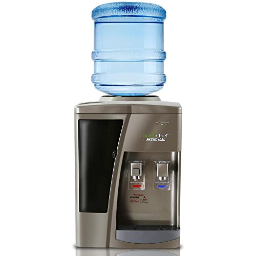 NutriChef PKTWC10SL Water Cooler, One Size, Silver
