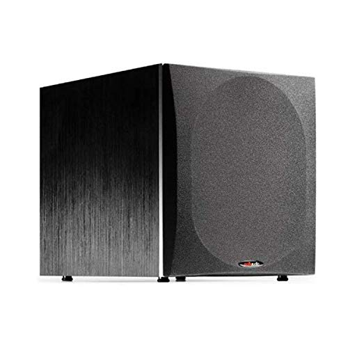 Polk Audio PSW505 12' Powered Subwoofer - Deep Bass Impact & Distortion-Free Sound | Up to 460 Watts | Easy Integration with Home Theater Systems