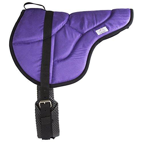 Best Friend English Style Bareback Pad, Purple/Black, Horse Size