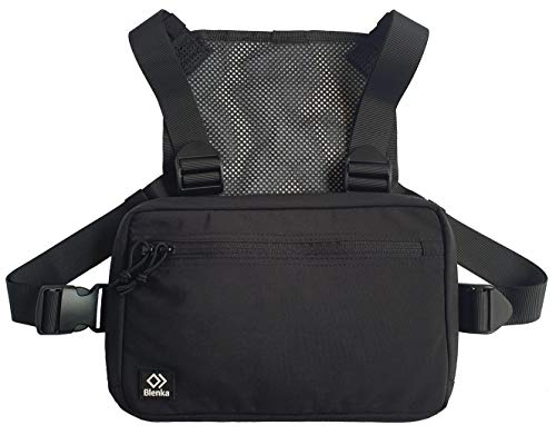Blenka Lightweight Chest Pack | Front Bag design great for Hiking, Running, Cycling, Climbing, Travelling and Tactical