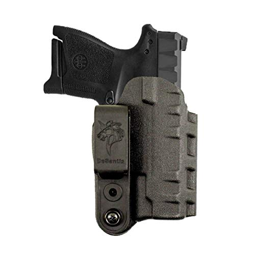 DeSantis Gunhide Slim-Tuk Inside The Pants Holster, Fits 1911 with 4.25'-5' Barrel with or Without Rail, Ambidextrous, Black Kydex