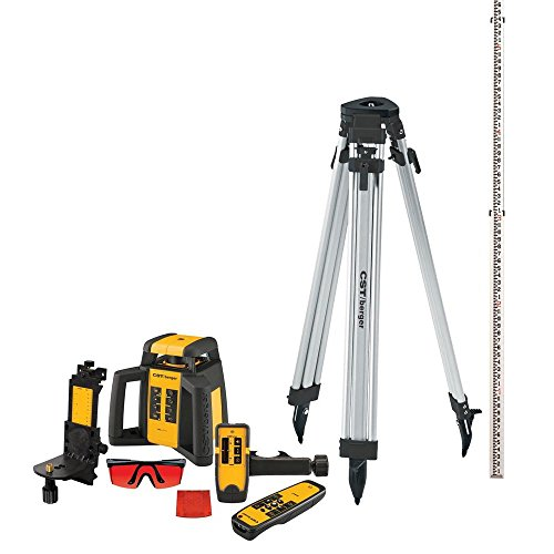 CST/berger RL25HVCK Horizontal/Vertical, Interior/Exterior Rotary Laser Complete Kit