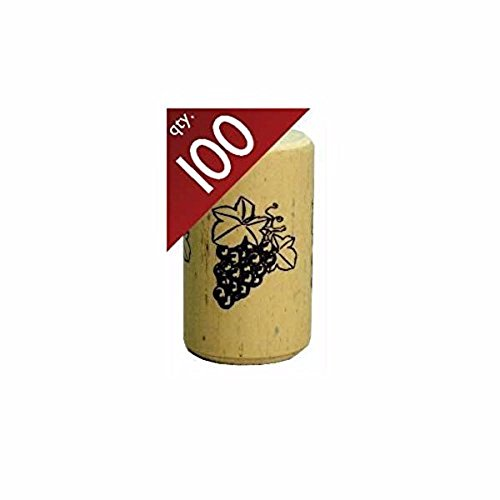 Nomacorc Synthetic Wine Corks #9 x 1 1/2'.  Bag of 100