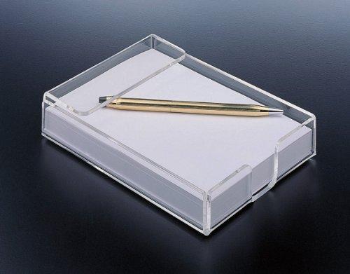 Note Pad Holder Acrylic Design