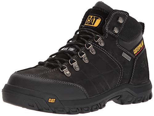 Caterpillar Men's Threshold Waterproof Steel Toe Industrial Boot, Black, 9 M US