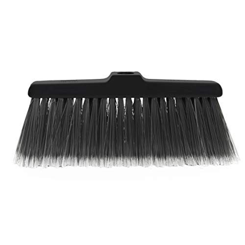 Fuller Brush Kitchen Broom Head - Heavy Duty Floor Sweeper with Fine Long Bristles - Dust Sweeping for Home/Commercial Kitchen & Warehouse Floors  Made in USA (Head for Broom Only)
