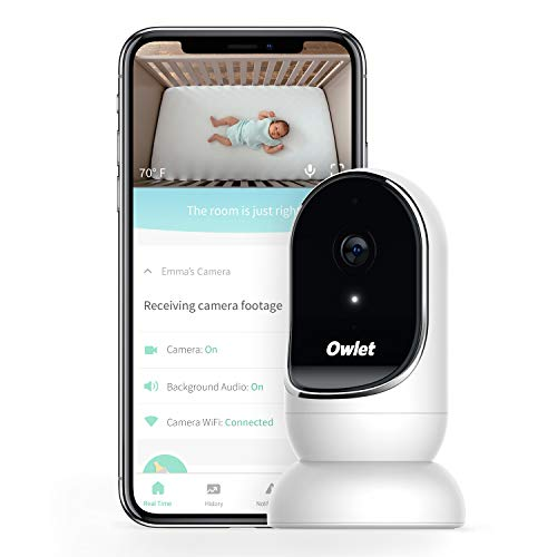 Owlet Baby Monitor with Camera and Audio