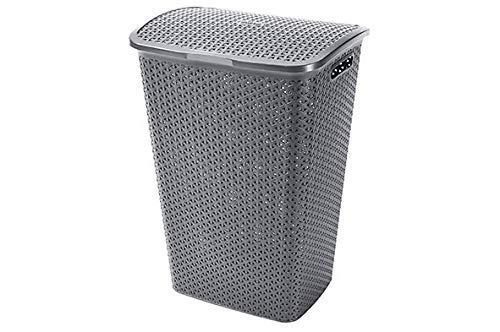 Curver'My Style Laundry Box, Silver, 35 x 25 x 10 cm