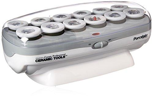 Conair Pro Ceramic Tools Porcelain Series Roller Hair Setter, 12 Count