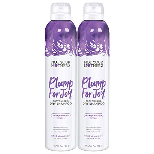 Not Your Mother's Plump for Joy Body Building Dry Shampoo, 7 Ounce, 2 count, for thin or lifeless hair