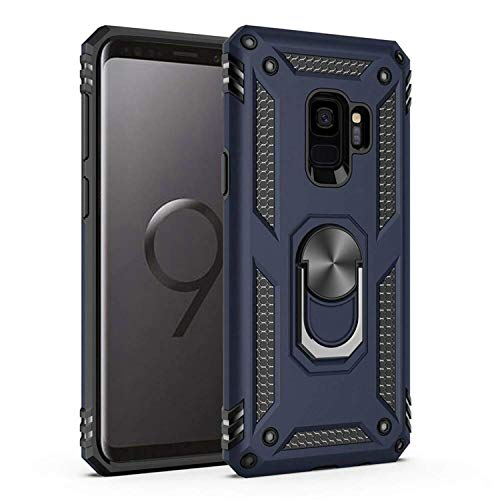 Samsung Galaxy S9 Plus Case,Amuoc [ Military Grade ] 15ft. Drop Tested Protective Case | Kickstand | Compatible with Samsung Galaxy S9 Plus-Royal Blue