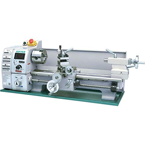 Grizzly Industrial G0768-8' x 16' Variable-Speed Benchtop Lathe