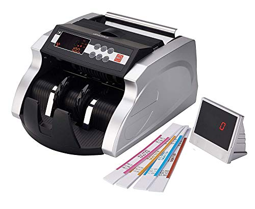 GStar Money Counter with UV/MG/IR/DD Counterfeit Bill Detection Plus External Display and 1 Year Warranty