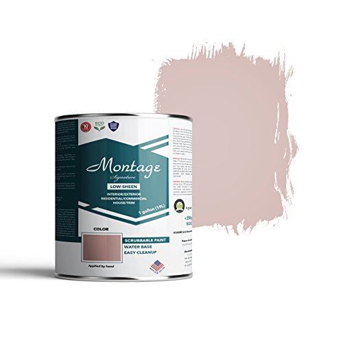 Montage Signature Interior/Exterior Eco-Friendly Paint, Almost Dusk - Low Sheen, 1 Gallon
