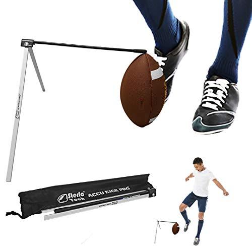 SterlaTech Football Kicking Holder Field Goal Kicking Holder Works with All Footballs and Sizes - Field Goal Kicking Holder  Football Tee - Accu Kick Pro
