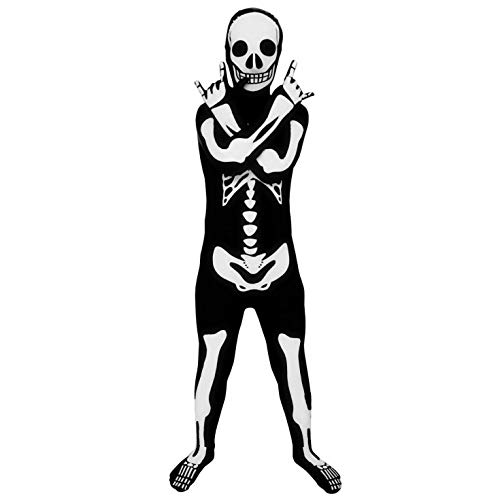 Morphsuits Official Glow Skeleton Kids Costume - Large (Age 10-12)