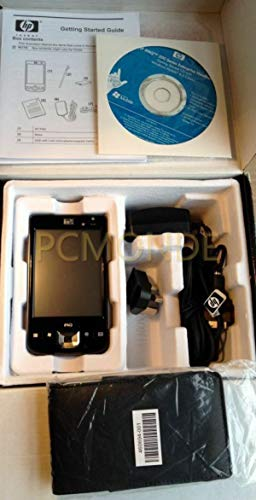 HP iPAQ 211 Enterprise Handheld PDA, 624 MHz, 4 inch TFT, 128 MB SDRAM, Black