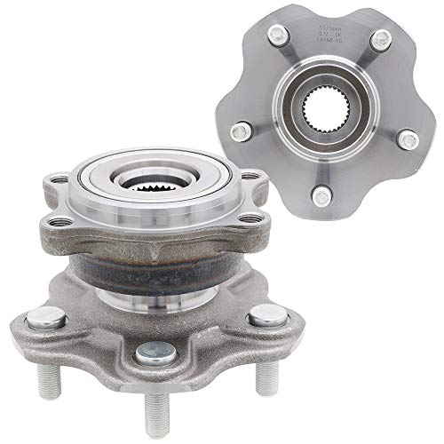 [2-Pack] 512346H - REAR Driver and Passenger Side Wheel Hub Bearing Assembly Compatible With 2003-2009 Nissan 350Z, 2003-2007 Infiniti G35 [OEM Replacement: 43210AL505, 43202AG000]