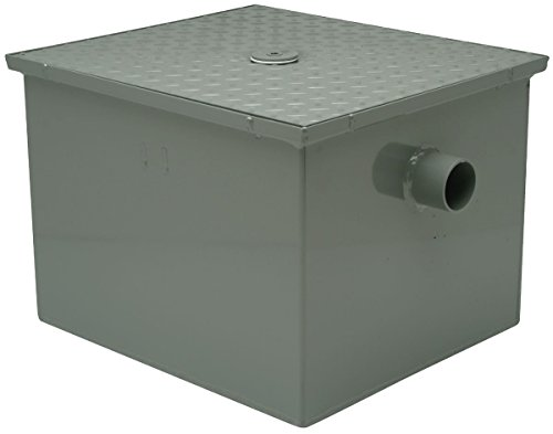 Zurn GT2700-10-2NH - Steel Grease Trap, 10 GPM 2' with Flow Control
