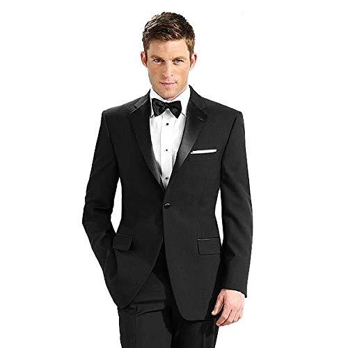 Neil Allyn 100% Polyester Tuxedo Jacket, Black, Size 44 Regular