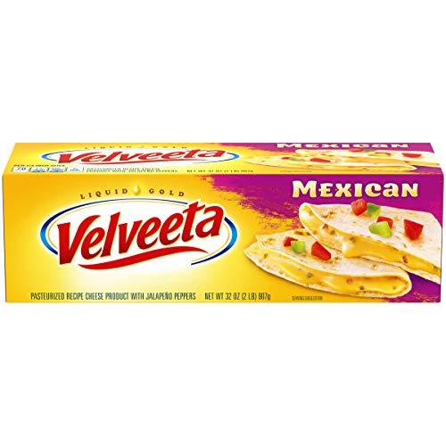 Velveeta Mexican Mild Pasteurized Cheese (32 oz Box)