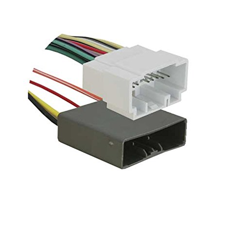 Metra 70-1727 Factory Amplifier Bypass Harness for 2006 Honda Civic Vehicles