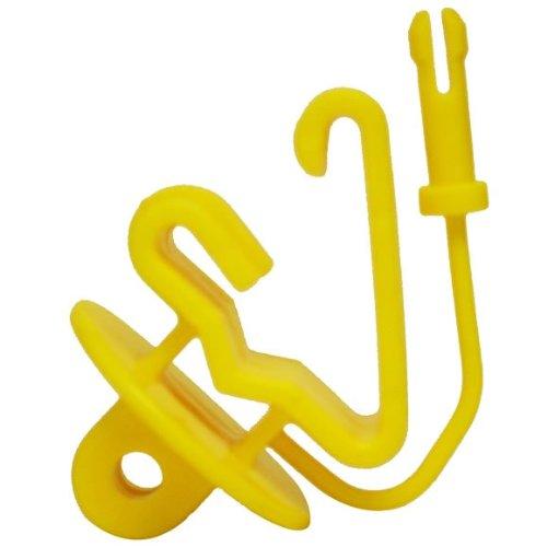 Zareba ITPLY-Z Pin-lock T-Post Insulator, 25 per Bag