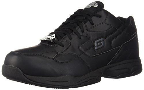 Skechers for Work Men's Felton Shoe, Black, 12 M US