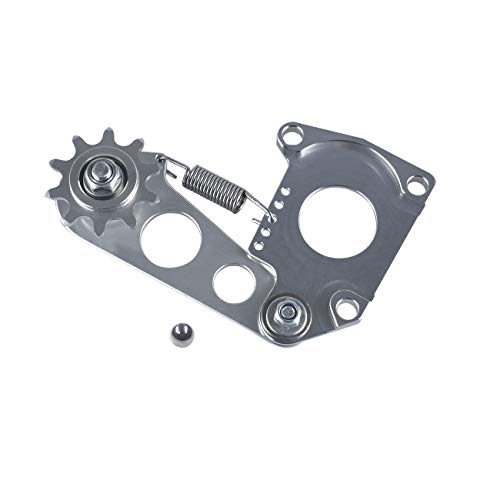 sthus Upgrade Tuning 2-Stroke Motorized Bicycle Billet Springer Chain Tensioner – Gas Bike Case Mounted Chain Idler Pulley